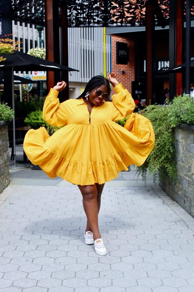 Dress flip