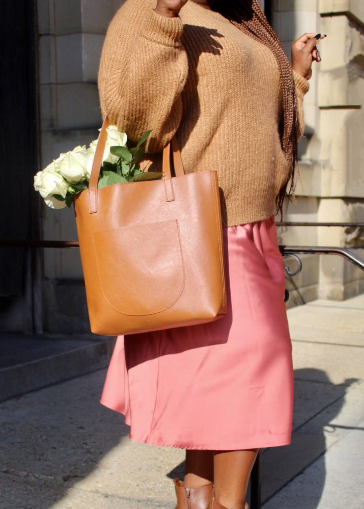 Sweater and Slip Skirt Trend