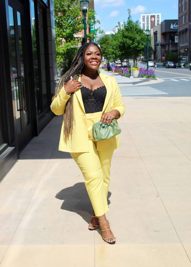 One Yellow Suit - Endless Ways For Spring and Beyond