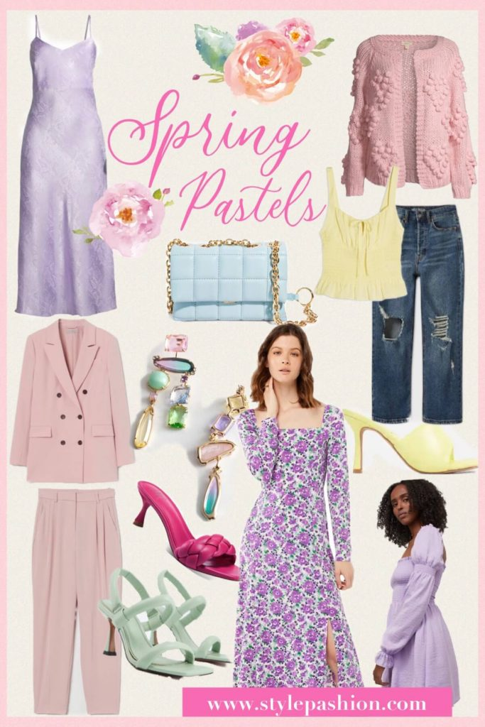Get Ready For Spring In Pastels