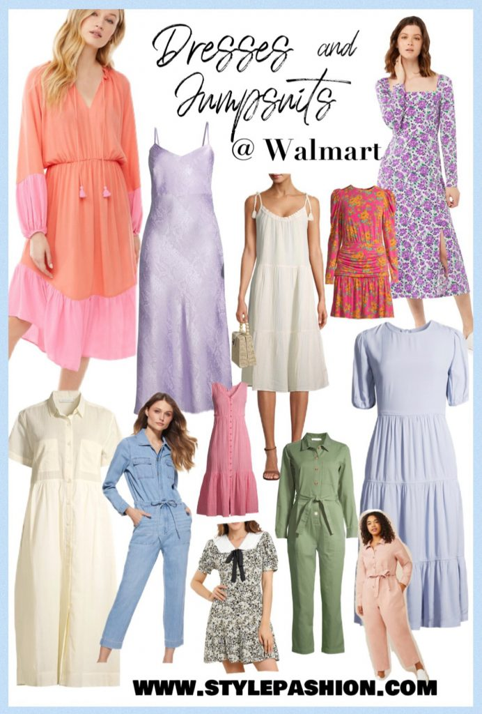 Spring Dresses and Jumpsuits At Walmart Under $50