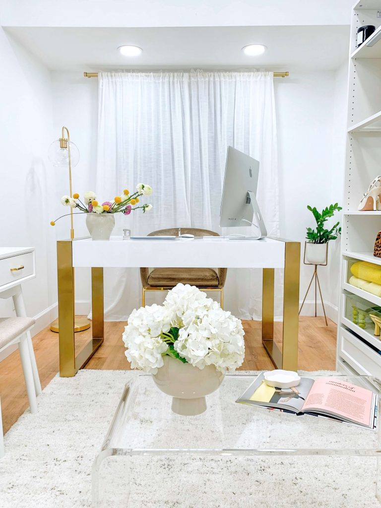 My Chic and Happy Creative space with BedBath&Beyond